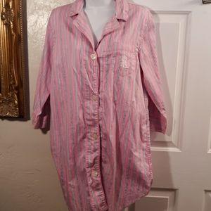 Lauren Ralph Lauren Womens Sleep Shirt